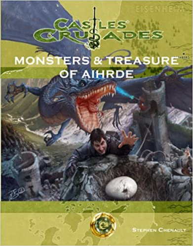 Rpg Castles+crusades: Monsters+treasure | GameKnight Games