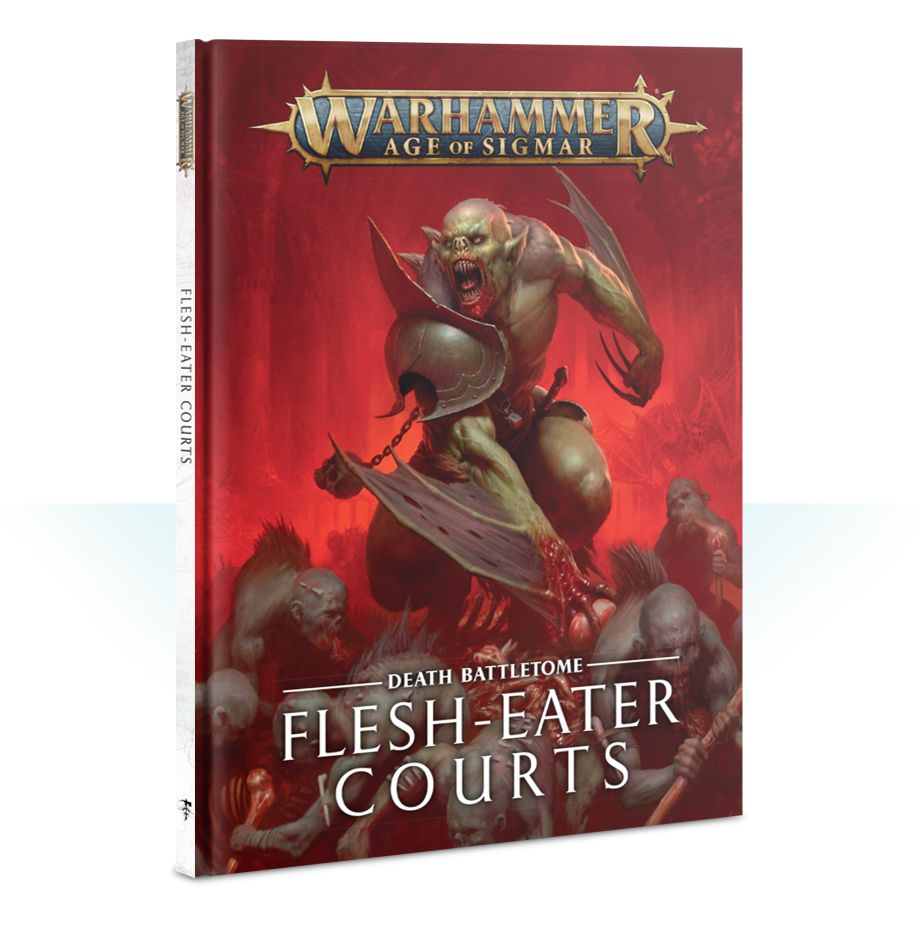 GW AoS Flesh-Eater Courts Battletome | GameKnight Games