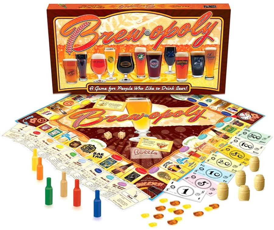 Mg Opoly Brew-opoly Canadian Edition | GameKnight Games