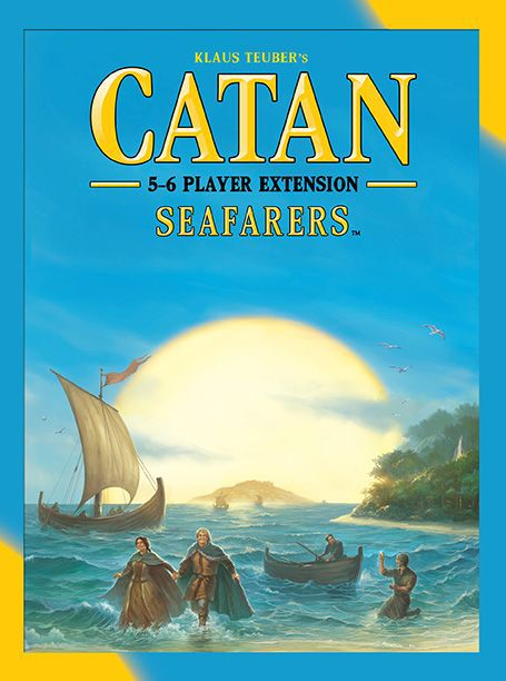 Catan 5e: Seafarers 5-6 Player Exp