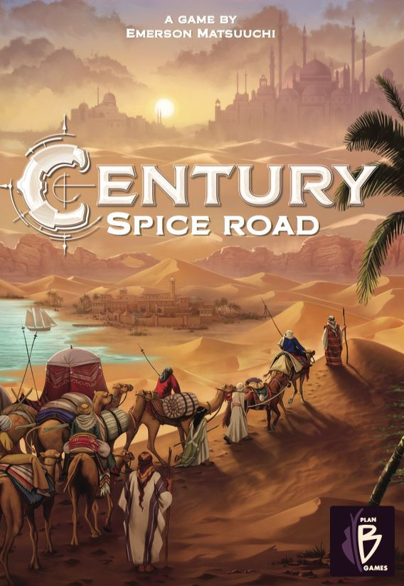 Bg Century Spice Road | GameKnight Games