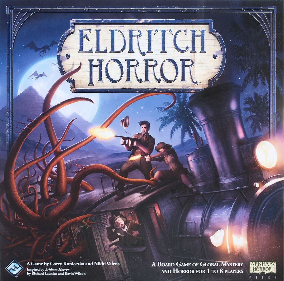 Bg Eldritch Horror | GameKnight Games