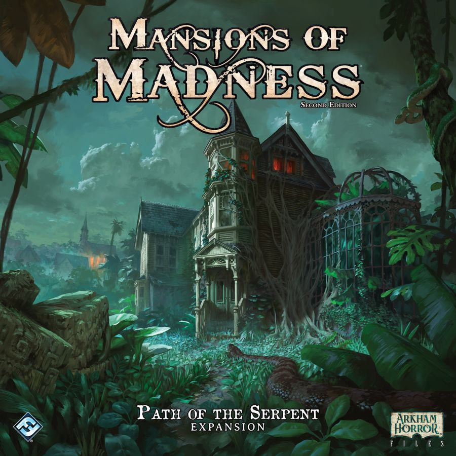 Bg Mansions Of Madness 2.0 Path Of The Serpent | GameKnight Games