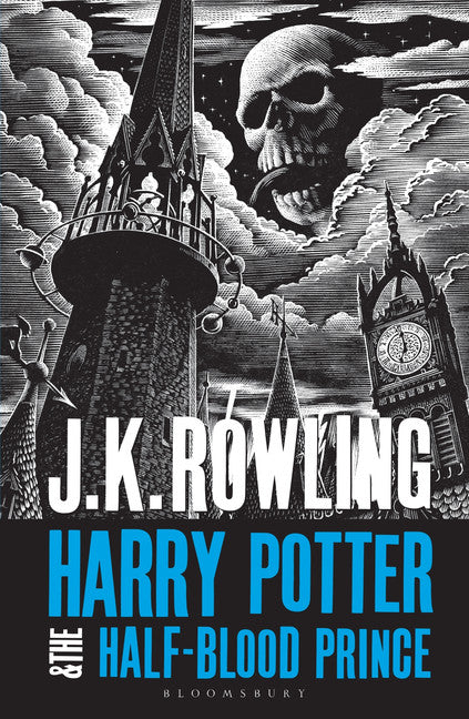 Novel Harry Potter 6: Half-blood Prince | GameKnight Games