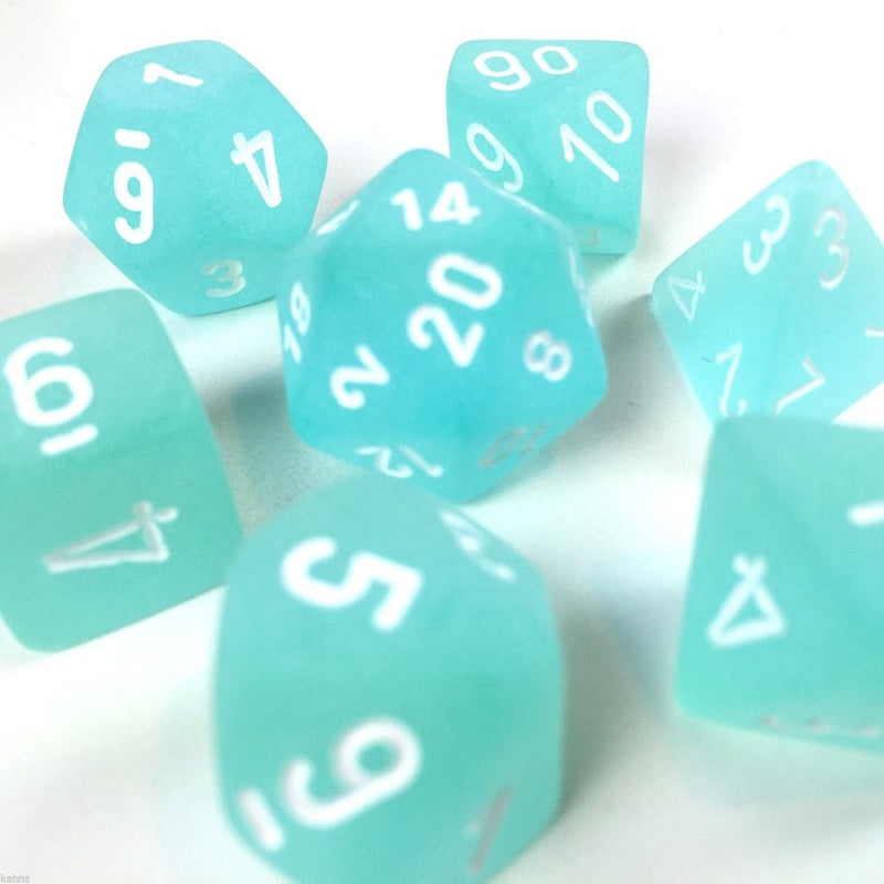 Chx Poly Frosted Teal/white