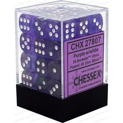 Chx 36d6 Borealis Purple/white | GameKnight Games