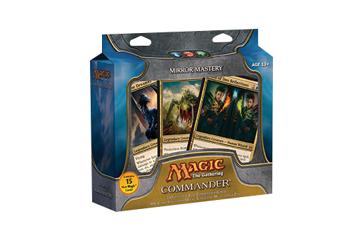 Mtg Commander 2011 - Set Of 5