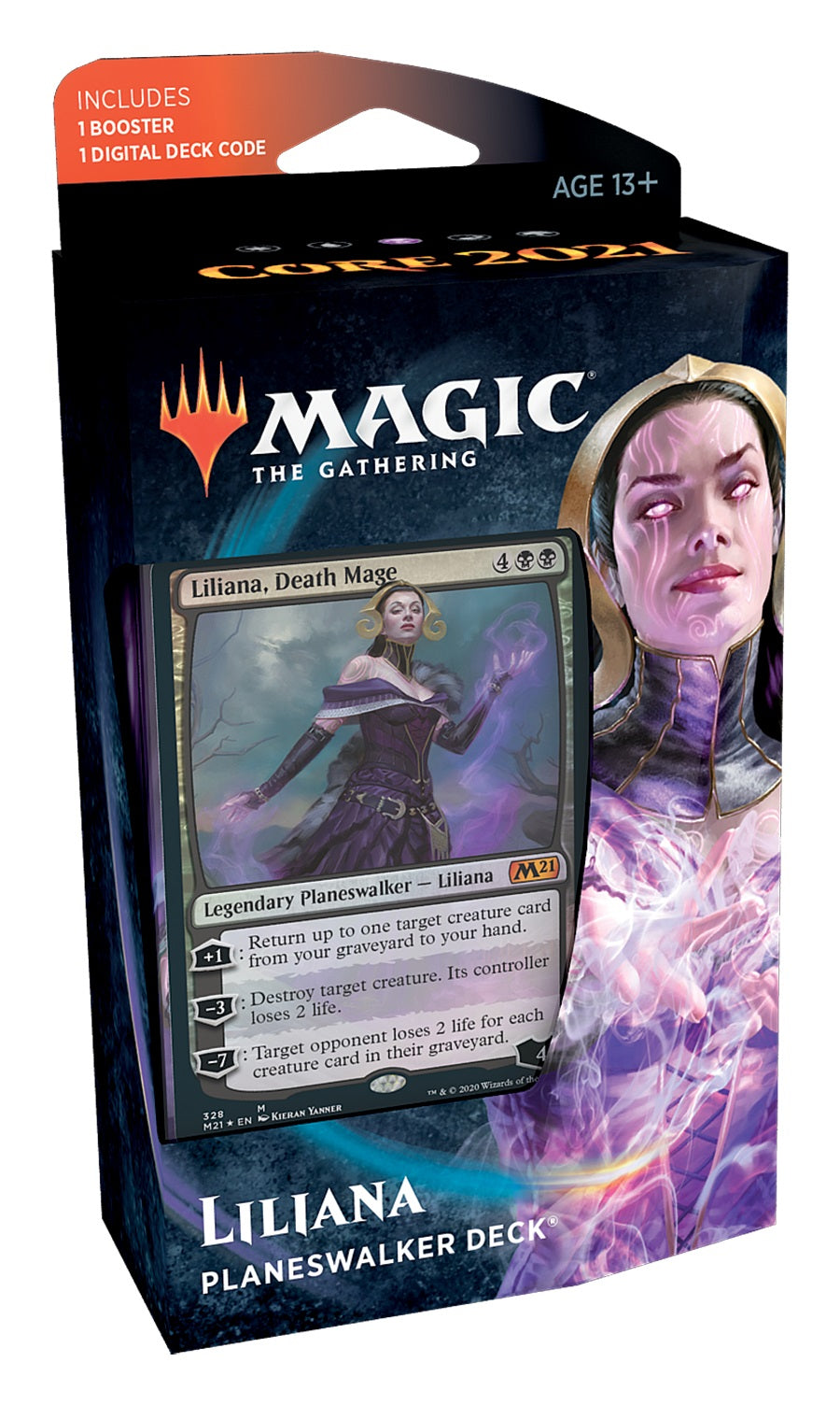 MTG Core 2021 Planeswalker Deck - Liliana | GameKnight Games