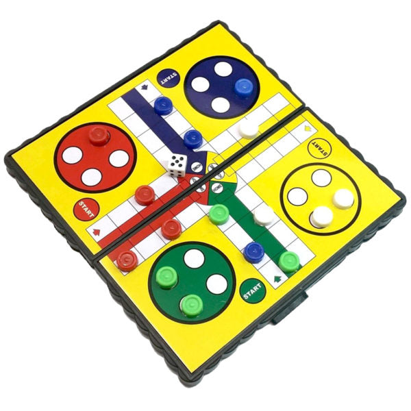 Bg Magnetic Portable Ludo    We49-1924 | GameKnight Games