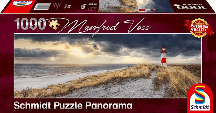 Puzzle Schmidt 1000 Lighthouse, Sylt | GameKnight Games