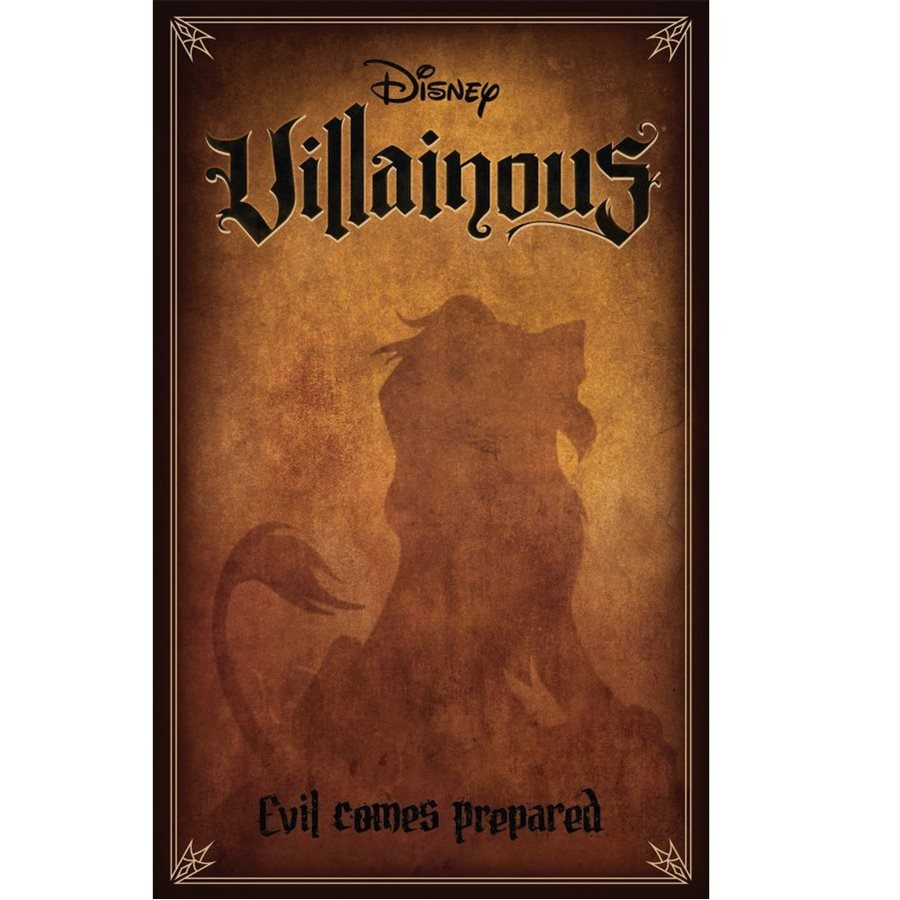 Bg Disney Villainous Evil Comes Prepared | GameKnight Games