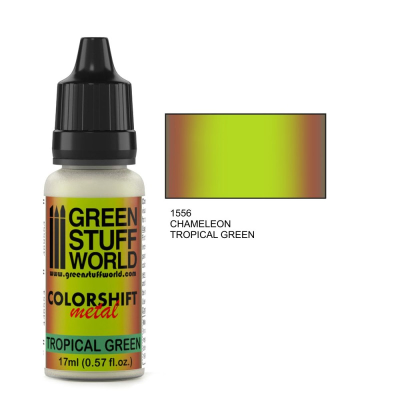 Gsw Paint Chameleon Tropical Green | GameKnight Games