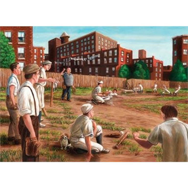 Puzzle Ch 1000 Piece Old Time Baseball | GameKnight Games