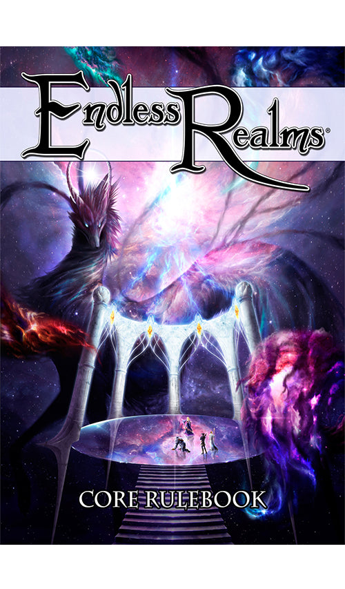Rpg Endless Realms Core Rulebook | GameKnight Games