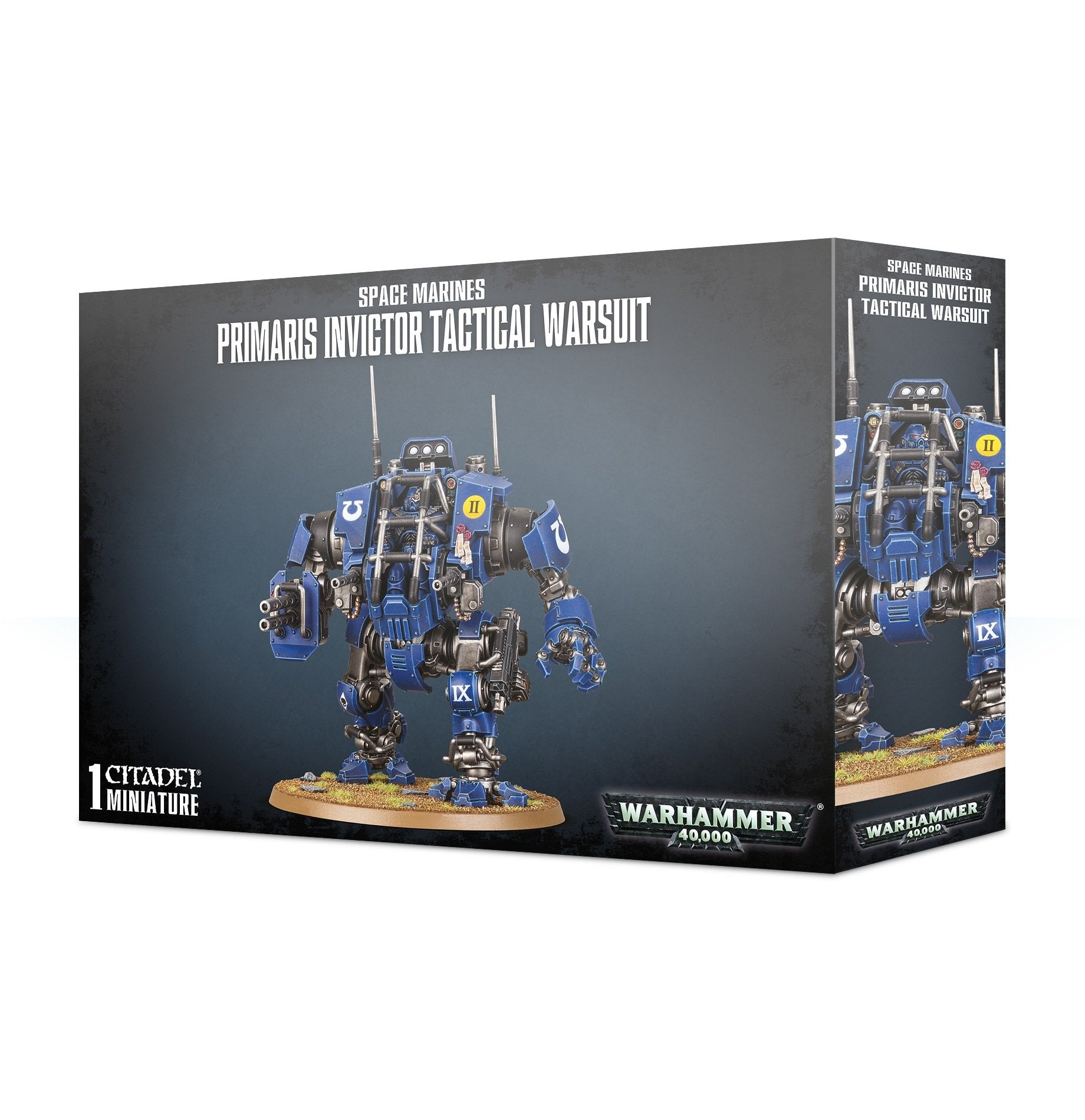 GW 40k Space Marine Primaris Invictor Tactical Warsuit | GameKnight Games