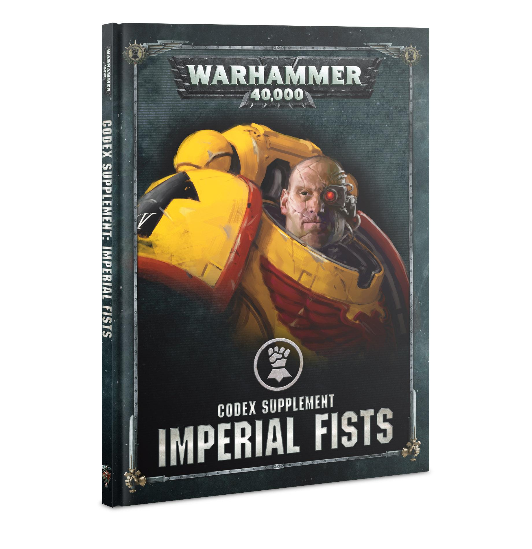 GW 40K Imperial Fists Codex Supplement | GameKnight Games