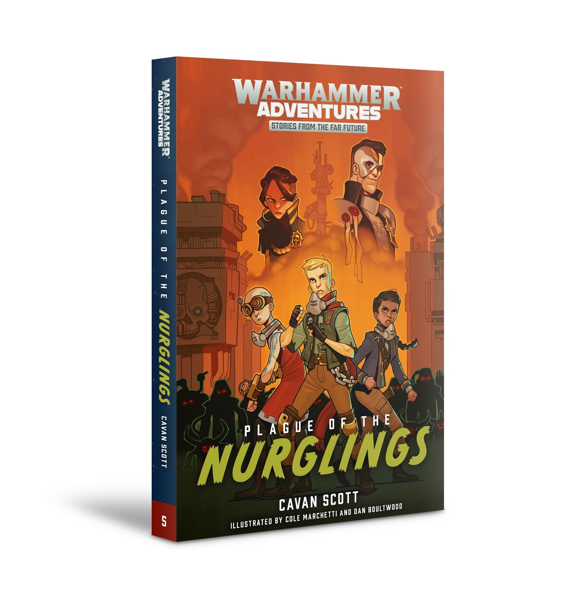 GW Novel Warped Galaxies 5: Plague of the Nurglings | GameKnight Games