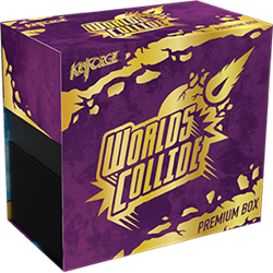 Kf08 Keyforge Worlds Collide Premium Box | GameKnight Games