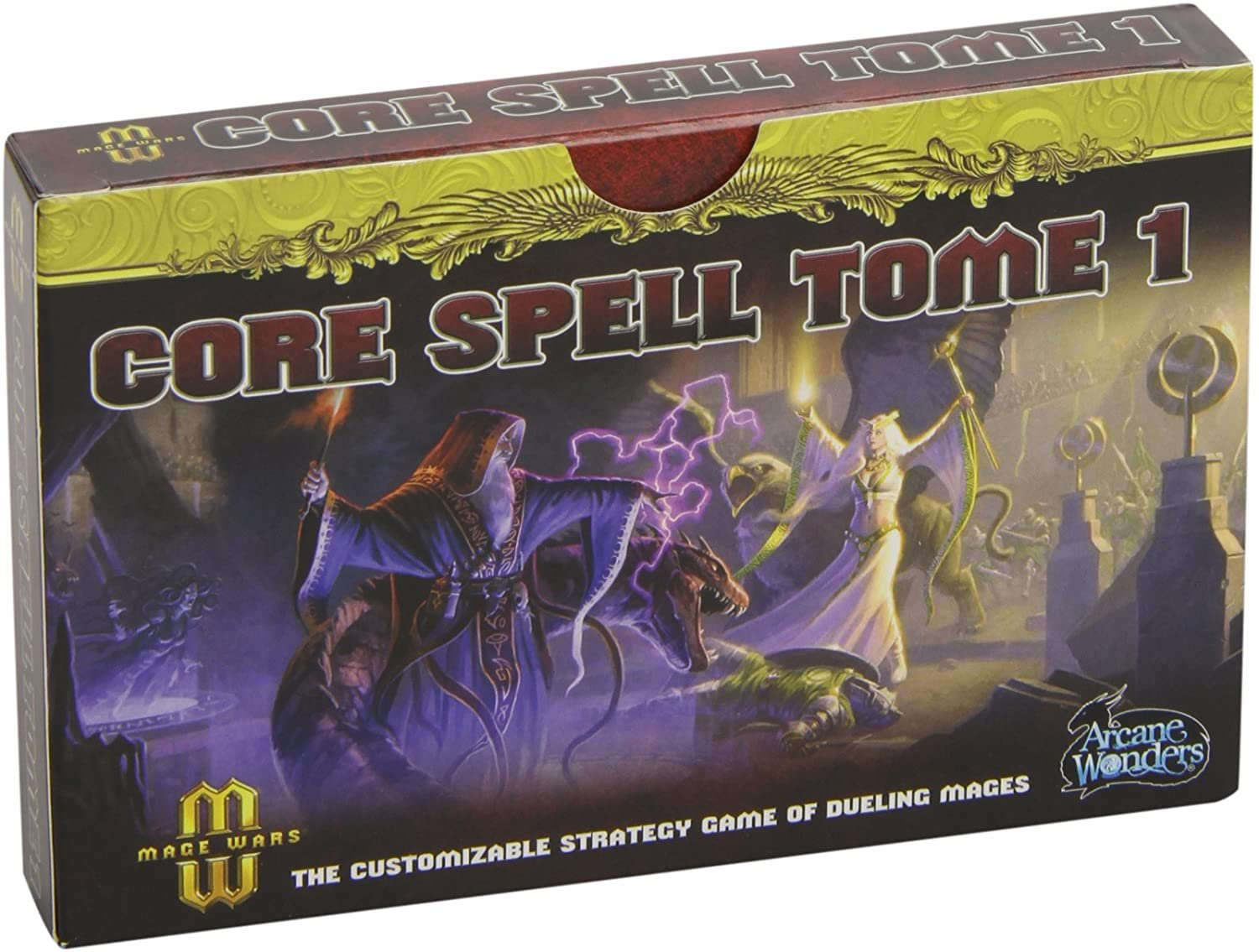 Bg Mage Wars Core Spell Tome Exp | GameKnight Games