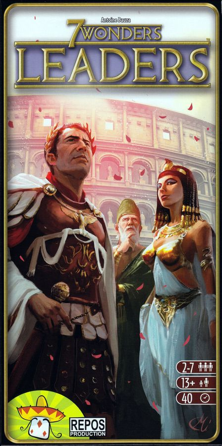Bg 7 Wonders: Leaders Expansion