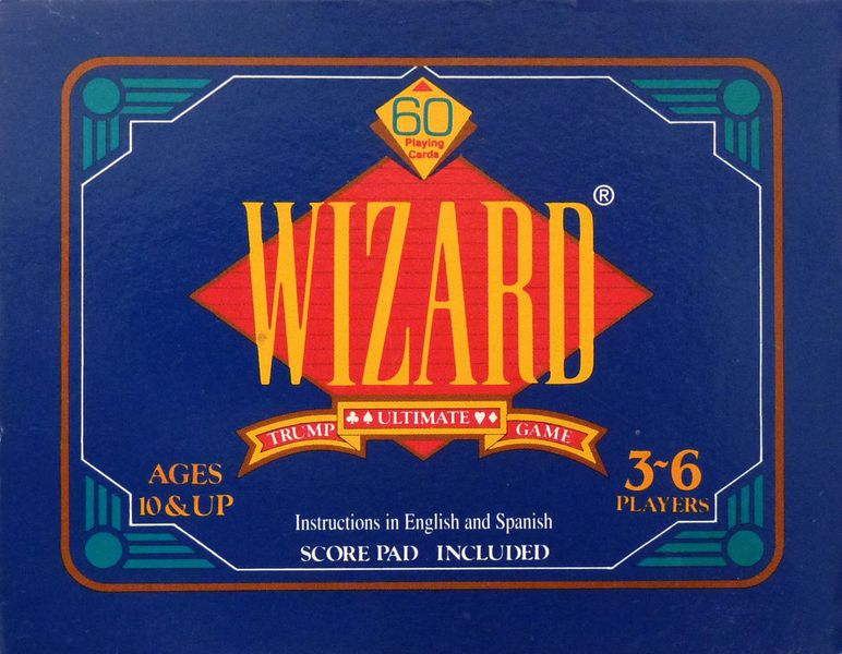 Cg Wizard Deluxe Card Game