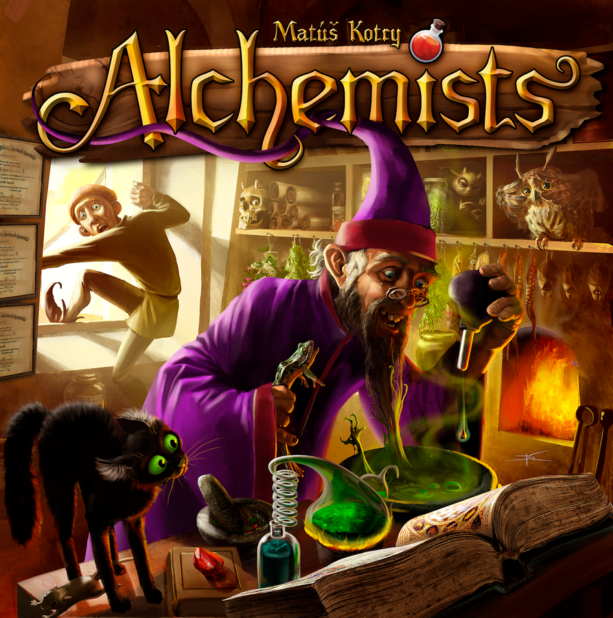 BG Alchemists | GameKnight Games
