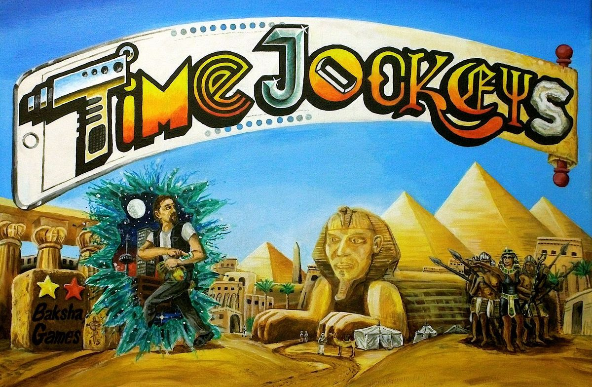Cg Time Jockeys | GameKnight Games