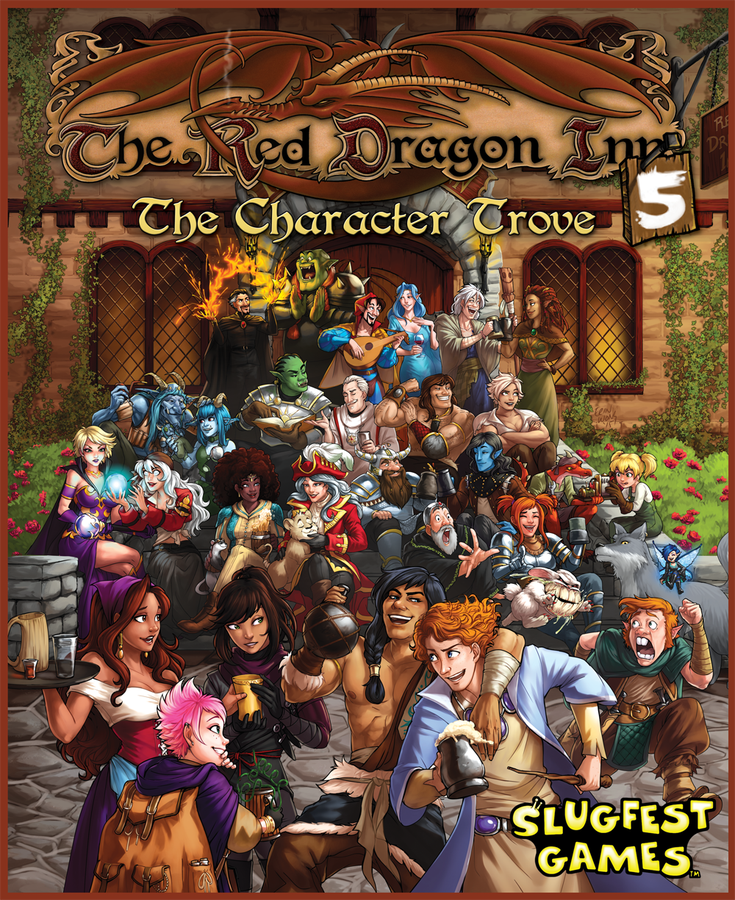 Bg Red Dragon Inn 5 Character Trove | GameKnight Games