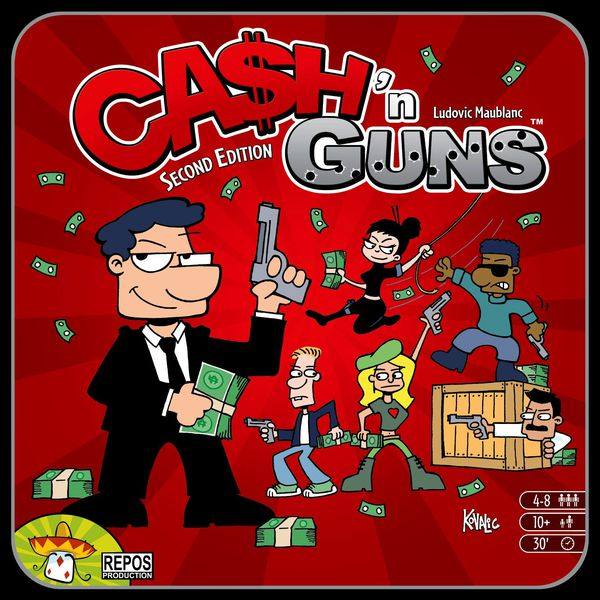 Bg Cash 'n Guns | GameKnight Games