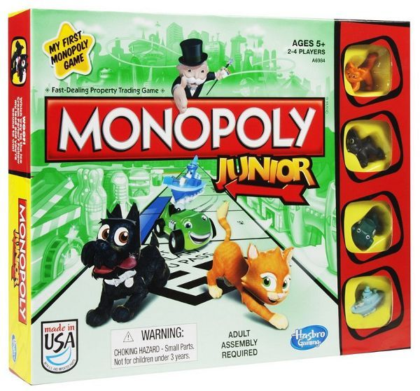 Kg Monopoly Junior | GameKnight Games