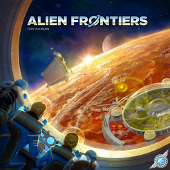 Bg Alien Frontiers | GameKnight Games