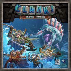 Bg Clank! Sunken Treasures | GameKnight Games