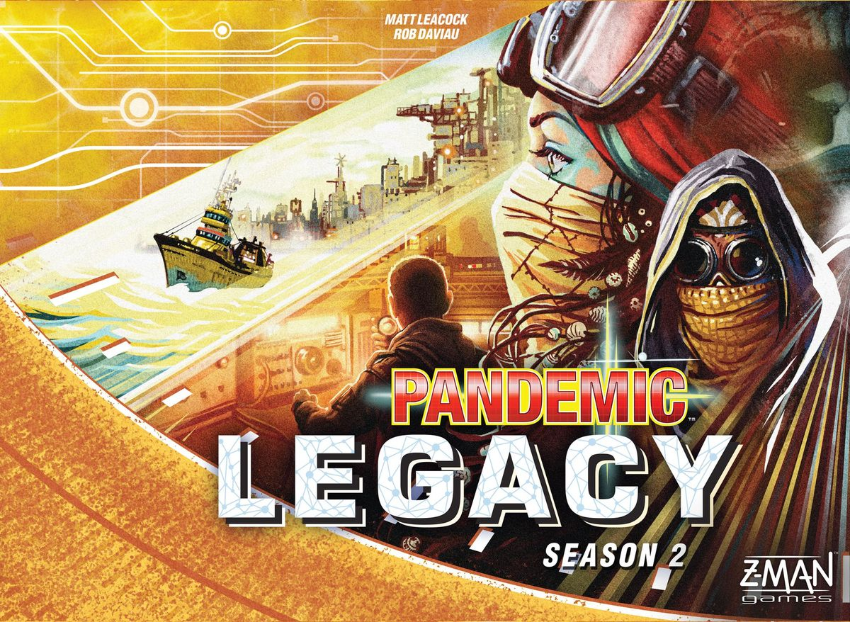 Bg Pandemic: Legacy Season 2 (yellow) | GameKnight Games
