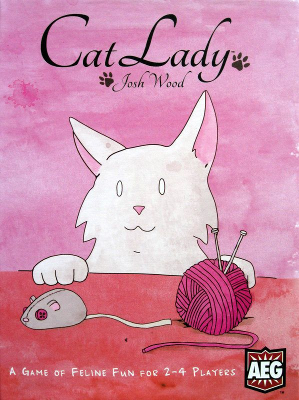 Cg Cat Lady | GameKnight Games