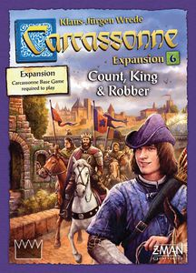 Bg Carcassonne Exp 6: Count, King And Robber | GameKnight Games