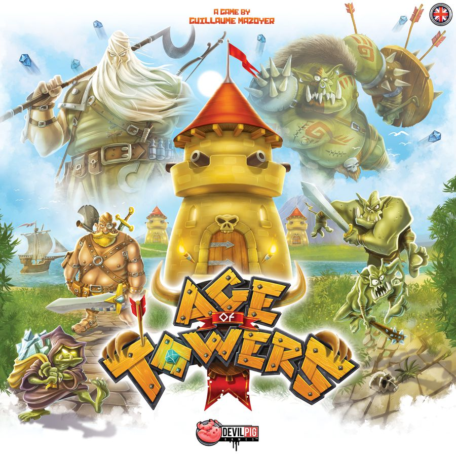 Bg Age Of Towers | GameKnight Games