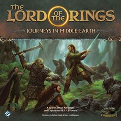 Bg Lotr Journeys: Journeys In Middle Earth | GameKnight Games