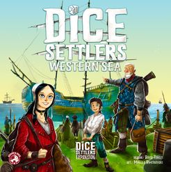 Bg Dice Settlers: Western Sea | GameKnight Games