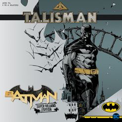 Bg Talisman Batman | GameKnight Games