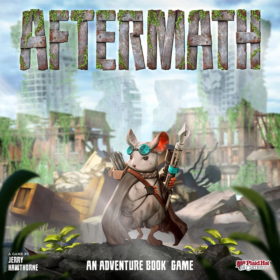 Bg Aftermath: An Adventure Book Game | GameKnight Games
