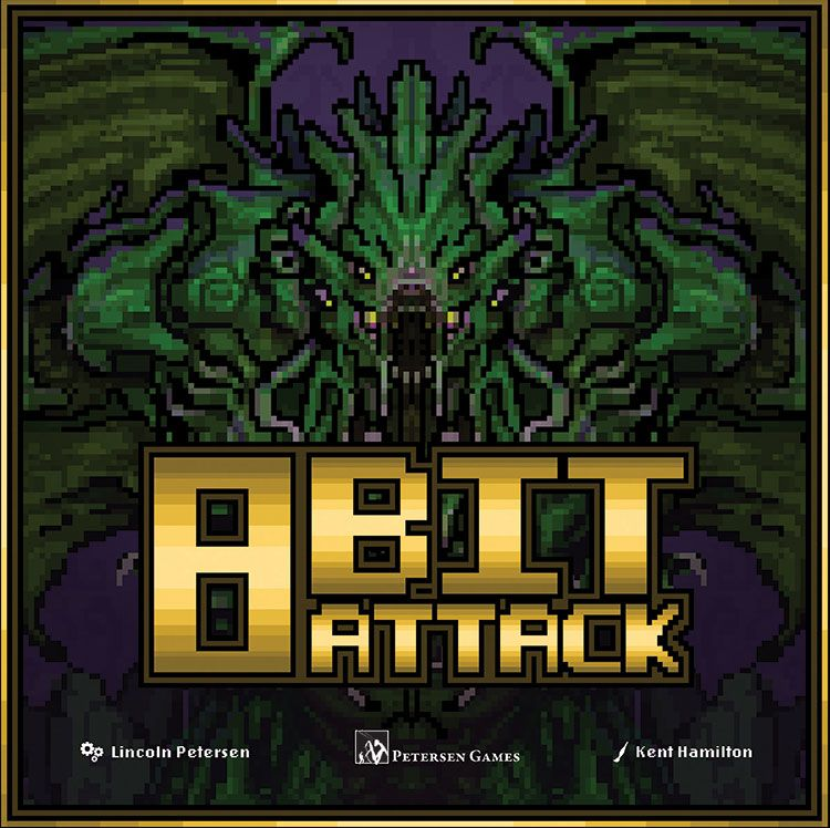 Bg 8 Bit Attack | GameKnight Games