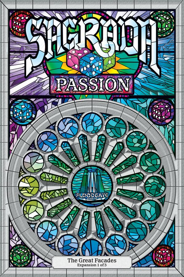 Bg Sagrada The Great Facades - Passion Expansion | GameKnight Games