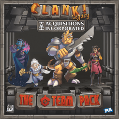 Bg Clank! Legacy Acquisitions Inc The C Team | GameKnight Games