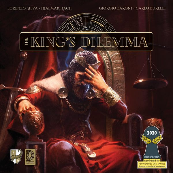 Bg King's Dilemma | GameKnight Games