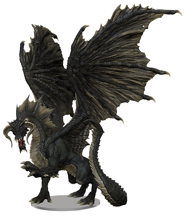 Wkm Dd96021 Adult Black Dragon Premium | GameKnight Games