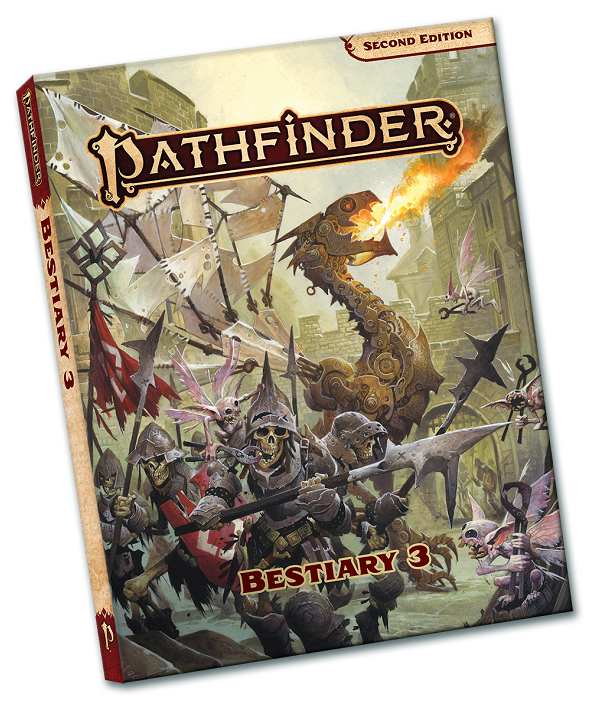 Pathfinder 2E: Bestiary 3 Pocket Edition | GameKnight Games
