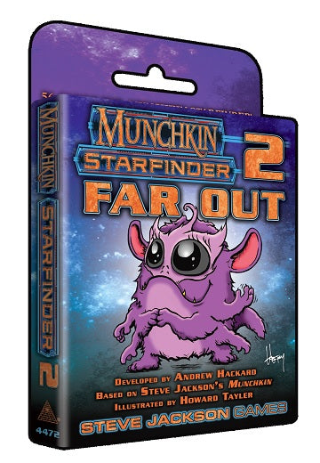 Munchkin Starfinder 2: Far Out Expansion | GameKnight Games