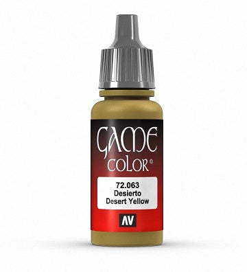 Vallejo Game Color 17ml Desert Yellow | GameKnight Games