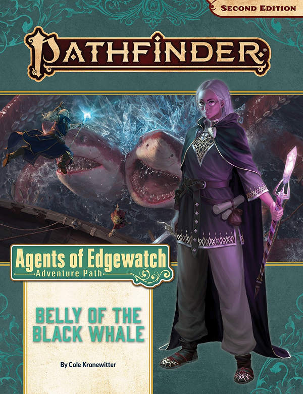 Pf2 161 Agents Of Edgewatch 5/6 Belly Black Whale | GameKnight Games
