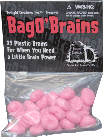CG Zombies!! Bag O' Brains | GameKnight Games